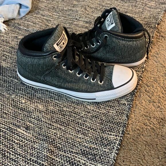 Men's Converse high tops size 8